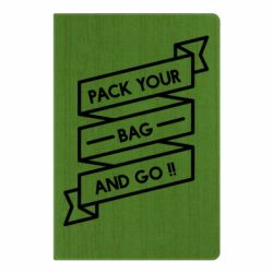 Блокнот А5 Pack your bag and go