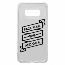Чехол для Samsung S10e Pack your bag and go