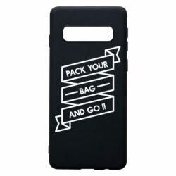 Чехол для Samsung S10 Pack your bag and go