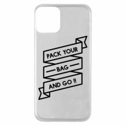 Чехол для iPhone 11 Pack your bag and go