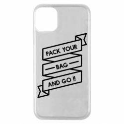 Чехол для iPhone 11 Pro Pack your bag and go