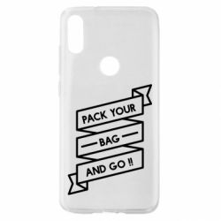 Чехол для Xiaomi Mi Play Pack your bag and go