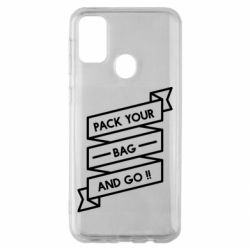Чехол для Samsung M30s Pack your bag and go
