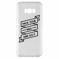 Чехол для Samsung S8+ Pack your bag and go