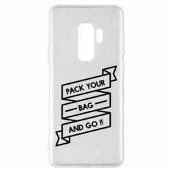 Чехол для Samsung S9+ Pack your bag and go