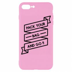 Чехол для iPhone 8 Plus Pack your bag and go