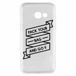 Чехол для Samsung A3 2017 Pack your bag and go