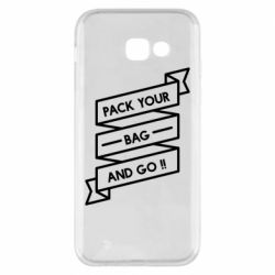 Чехол для Samsung A5 2017 Pack your bag and go