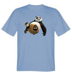Мужская футболка Падающая Панда - FatLine