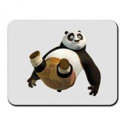 Коврик для мыши Падающая Панда - FatLine