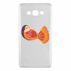 Чохол для Samsung A7 2015 Painted with patterns Bird