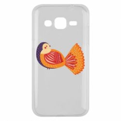 Чохол для Samsung J2 2015 Painted with patterns Bird