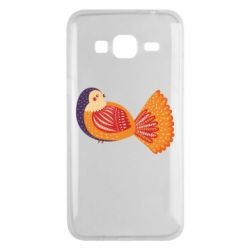 Чохол для Samsung J3 2016 Painted with patterns Bird