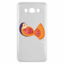 Чохол для Samsung J7 2016 Painted with patterns Bird