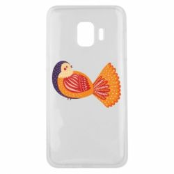 Чохол для Samsung J2 Core Painted with patterns Bird