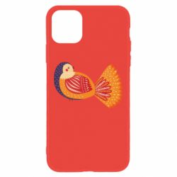 Чохол для iPhone 11 Painted with patterns Bird