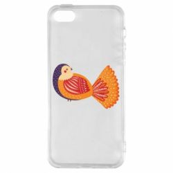 Чохол для iphone 5/5S/SE Painted with patterns Bird