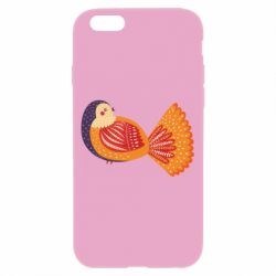 Чохол для iPhone 6/6S Painted with patterns Bird