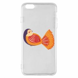 Чохол для iPhone 6 Plus/6S Plus Painted with patterns Bird