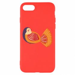Чохол для iPhone 7 Painted with patterns Bird