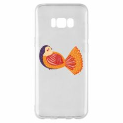 Чохол для Samsung S8+ Painted with patterns Bird