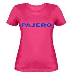 Жіноча футболка PAJERO
