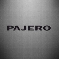 Наклейка PAJERO - FatLine
