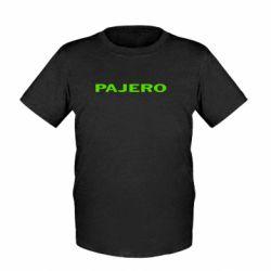 Дитяча футболка PAJERO