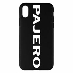 Чехол для iPhone X/Xs PAJERO