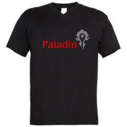 Мужская футболка  с V-образным вырезом Paladin - FatLine