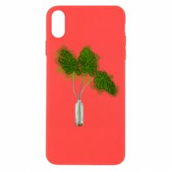 Чехол для iPhone X/Xs Palm leaves in a bottle