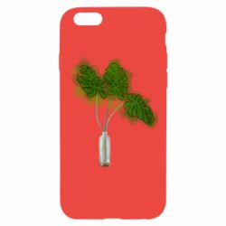 Чехол для iPhone 6/6S Palm leaves in a bottle