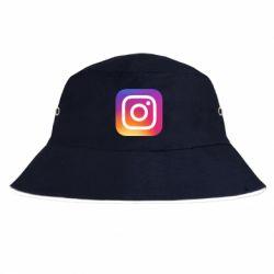 Панама Instagram Logo Gradient