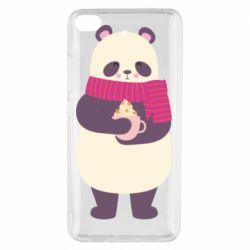 Чехол для Xiaomi Mi 5s Panda and Cappuccino