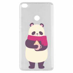 Чехол для Xiaomi Mi Max 2 Panda and Cappuccino