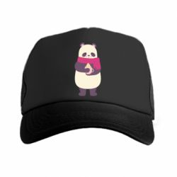 Кепка-тракер Panda and Cappuccino