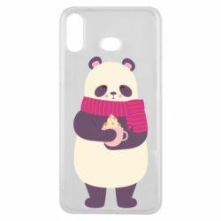 Чехол для Samsung A6s Panda and Cappuccino