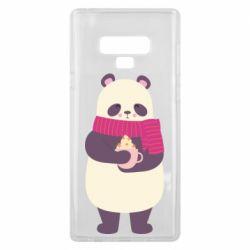 Чехол для Samsung Note 9 Panda and Cappuccino