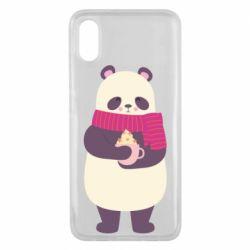Чехол для Xiaomi Mi8 Pro Panda and Cappuccino