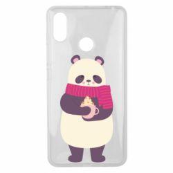 Чехол для Xiaomi Mi Max 3 Panda and Cappuccino