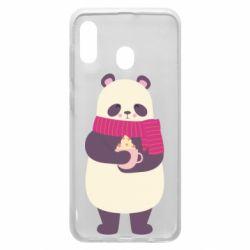 Чехол для Samsung A30 Panda and Cappuccino