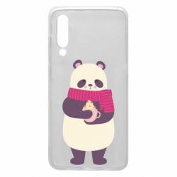 Чехол для Xiaomi Mi9 Panda and Cappuccino