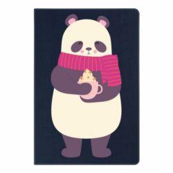 Блокнот А5 Panda and Cappuccino