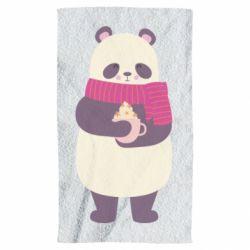 Полотенце Panda and Cappuccino