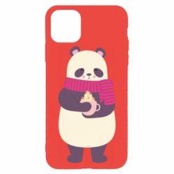 Чехол для iPhone 11 Pro Panda and Cappuccino