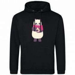Мужская толстовка Panda and Cappuccino