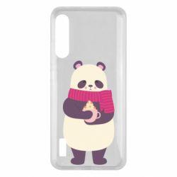 Чохол для Xiaomi Mi A3 Panda and Cappuccino