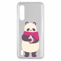 Чехол для Xiaomi Mi9 Lite Panda and Cappuccino