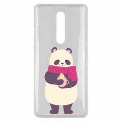 Чехол для Xiaomi Mi9T Panda and Cappuccino