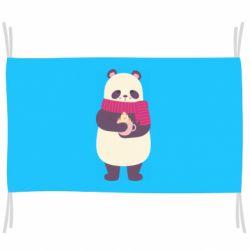 Флаг Panda and Cappuccino